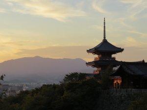 京都の夕刻
